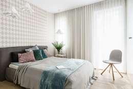 scandinavian Bedroom by Saje Architekci Joanna Morkowska-Saj
