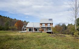 Certified Passive House: modern Houses by ZeroEnergy Design
