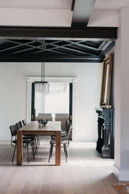 modern Dining room by FLUID LIVING STUDIO