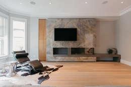 modern Living room by FLUID LIVING STUDIO