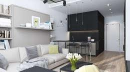 Квартира в ЖК Ясный: Кухни в . Автор – Elena Potemkina