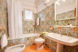 mediterranean Bathroom تنفيذ MakeUp your Home