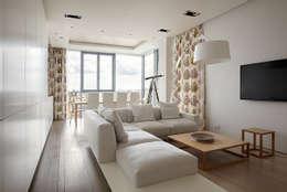 غرفة المعيشة تنفيذ Elena Potemkina