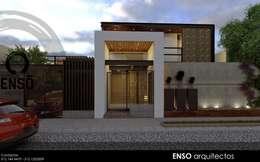 Casas de estilo moderno por Enso Arquitectos