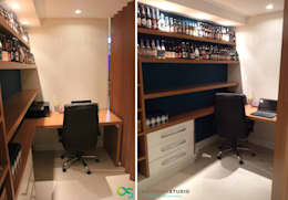 Oficinas de estilo moderno por Camarina Studio