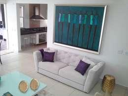 Salas de estar modernas por Camarina Studio