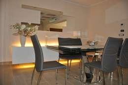 Projekty,  Jadalnia zaprojektowane przez ARCHEGROUP ARCHITETTURA D'INTERNI