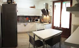 cucina appartamento MF: Cucina in stile in stile Moderno di Studio Gentile