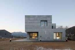 modern Houses by 위즈스케일디자인