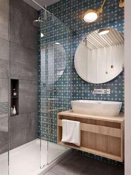 Projekty,  Łazienka zaprojektowane przez No Place Like Home ®