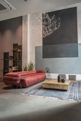 Living Room: Salas de estar modernas por No Place Like Home ®