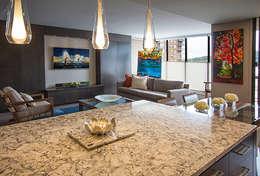 غرفة السفرة تنفيذ Kevin Gray Interiors