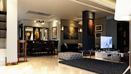 moderne Wohnzimmer von Boly Designs