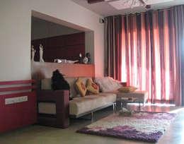 Studio Apartment : modern Living room by Core Design