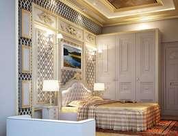 غرفة نوم تنفيذ Fervor design