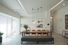minimalistische Eetkamer door (주)바오미다