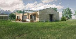 moderne Häuser von Belle Ville Atelier d'Architecture