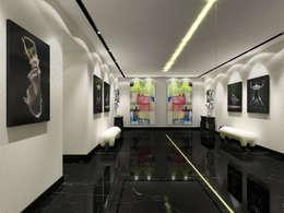 الممر والمدخل تنفيذ Luxury Interiors