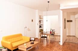 Projekty,  Salon zaprojektowane przez Archimeccanica
