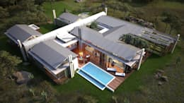 THE HILLS: modern Houses by Studious Architects