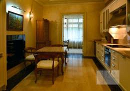 ИНТЕРЬЕРЫ ЗАГОРОДНОГО ДОМА: Кухни в . Автор – Архитектурная Мастерская Георгия Пряничникова