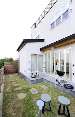 modern Garden by 코원하우스