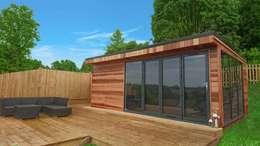 Projekty, nowoczesne Domy zaprojektowane przez Miniature Manors Ltd