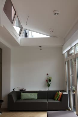 Projekty,  Salon zaprojektowane przez Architectenbureau Jules Zwijsen