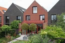 Projekty,  Dom szeregowy zaprojektowane przez Architectenbureau Jules Zwijsen