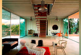 MANIFESTO HOUSE: Salas de estilo industrial por james&mau