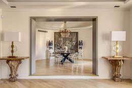 GERMANICO : Sala da pranzo in stile in stile Moderno di MOB ARCHITECTS