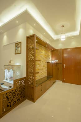 3 BHK partement : classic Bedroom by In Built Concepts