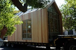 Greenpods 18+ modular timber pod house.:   by Greenpods