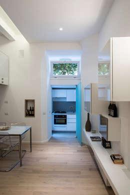 غرفة السفرة تنفيذ STUDIO ACRIVOULIS      Architettra + Interior Design