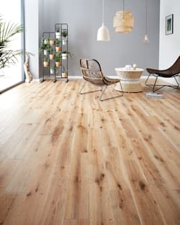 rustic Walls & floors by Woodpecker Flooring