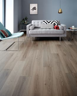 Wembury Nordic Oak: modern Walls & floors by Woodpecker Flooring