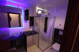 mediterranean Bathroom by Onn Design