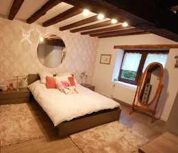 臥室 by Habitaka diseño y decoración
