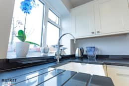 CONTEMPORARY KITCHEN FINISHES: modern Kitchen by The Market Design & Build