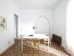 scandinavian Dining room by Oliveras Boix Arquitectes