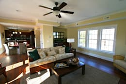 modern Living room by Outer Banks Renovation & Construction