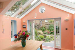 Kitchen extension in Queens Park, London: eclectic Dining room by Studio 29 Architects ltd