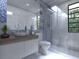 moderne Badezimmer von Arqternativa
