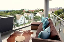 Apex Building - Penthouse:  Patios by House of Gargoyle