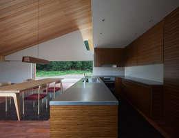 小石原の家: 森裕建築設計事務所が手掛けたキッチンです。