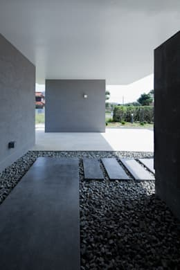 Gang en hal door 森裕建築設計事務所 / Mori Architect Office