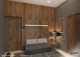 Residential Apartment : modern Bedroom by S2A studio