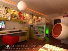 غرفة الاطفال تنفيذ Мастерская архитектора Аликова