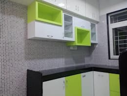 modern Kitchen by SHARADA INTERIORS