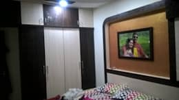 1 BHK RESIDENTIAL PROJECT @2016: modern Bedroom by SHARADA INTERIORS